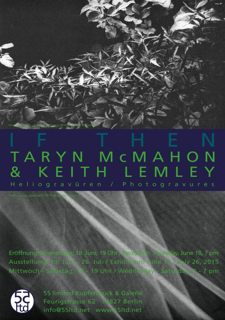 Taryn McMahon & Keith Lemley at 55 limited Berlin